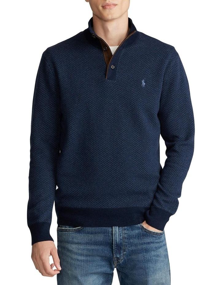 Merino Wool Mockneck Sweater image 1