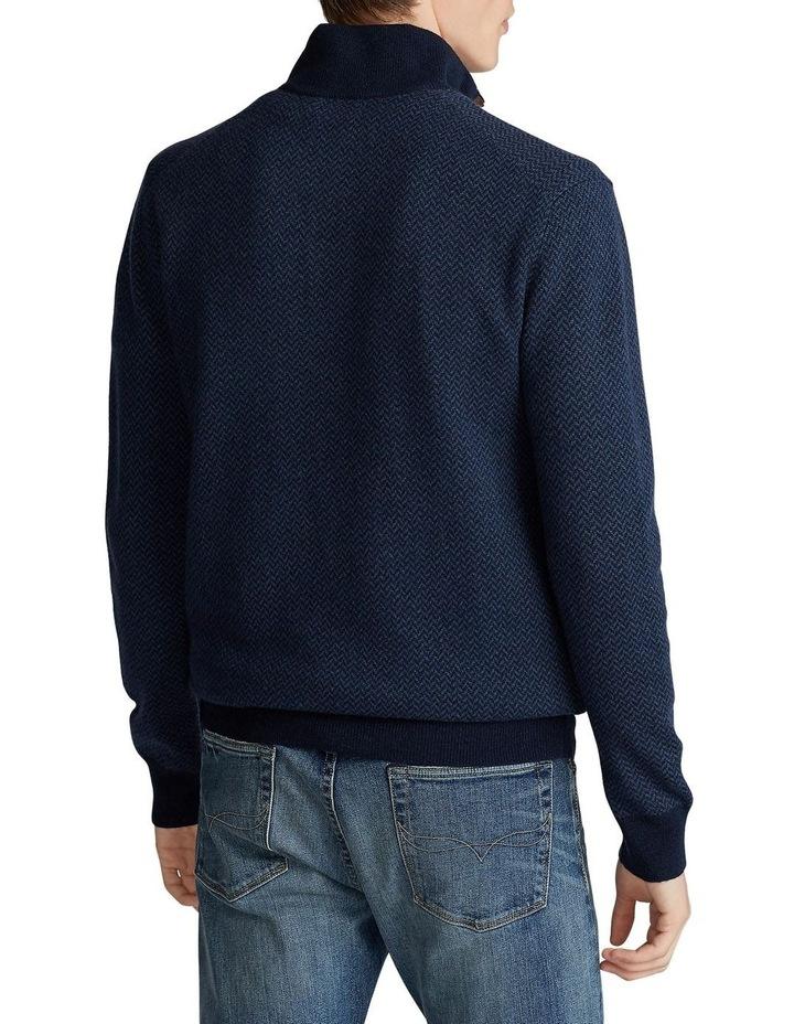 Merino Wool Mockneck Sweater image 2