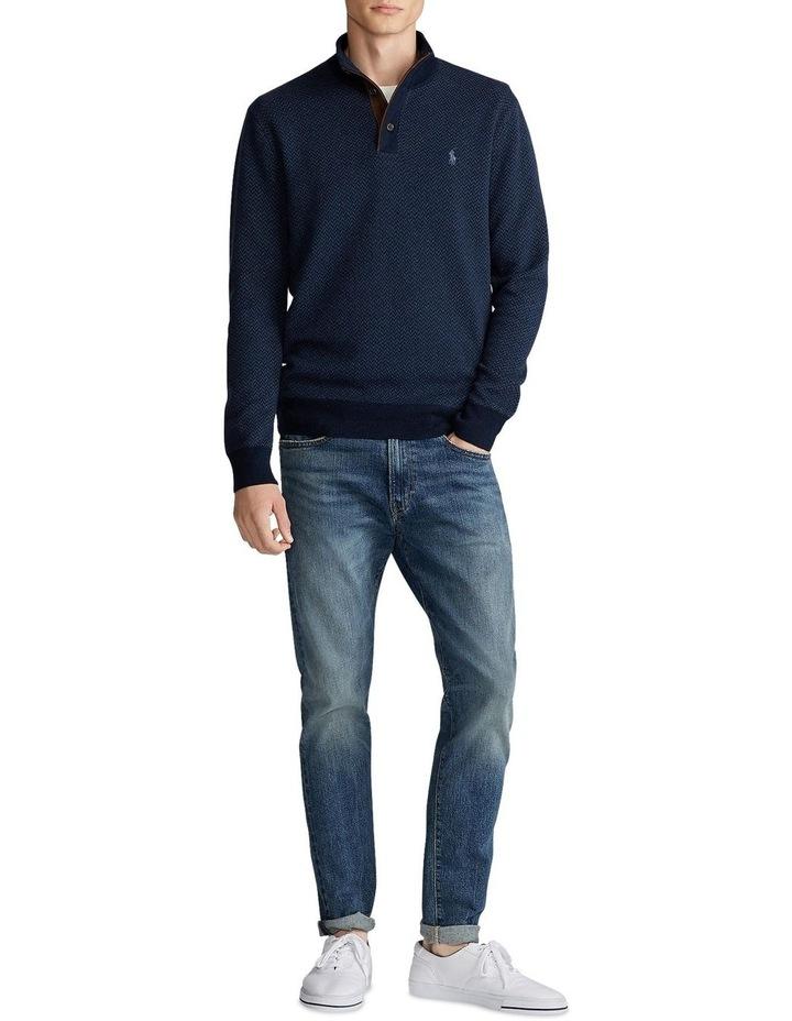 Merino Wool Mockneck Sweater image 3