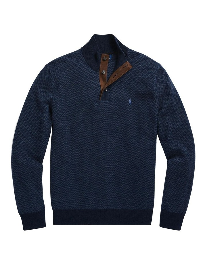 Merino Wool Mockneck Sweater image 4