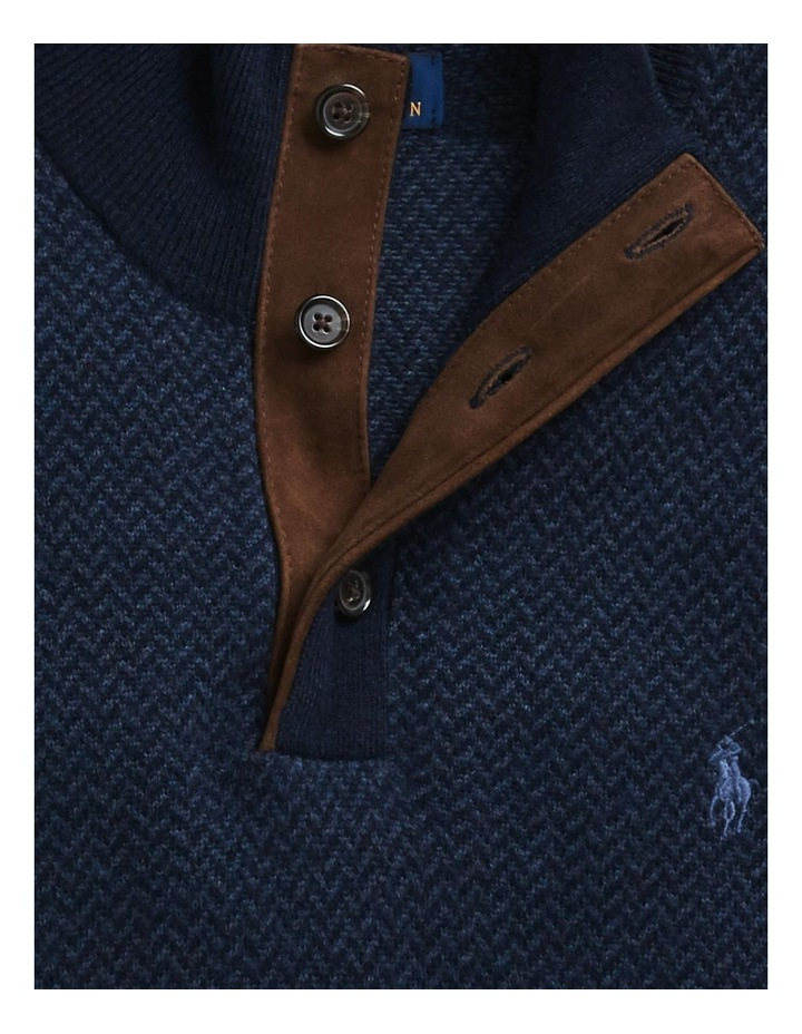 Merino Wool Mockneck Sweater image 5