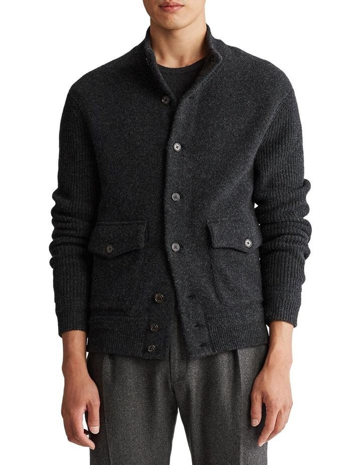 Wool-Cashmere Skeet Cardigan image 1