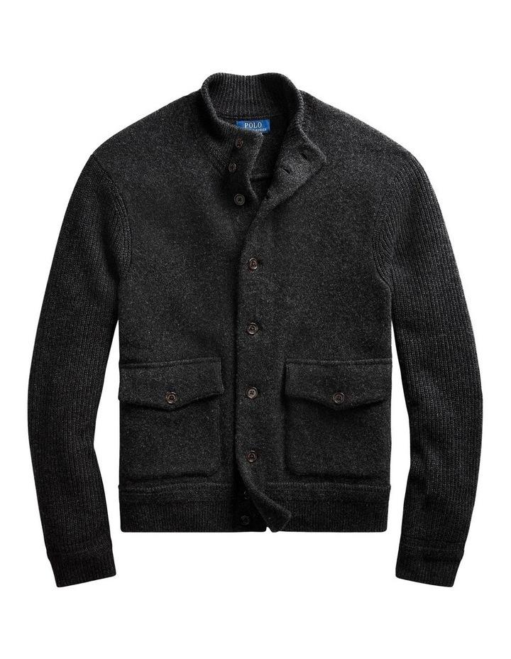 Wool-Cashmere Skeet Cardigan image 4