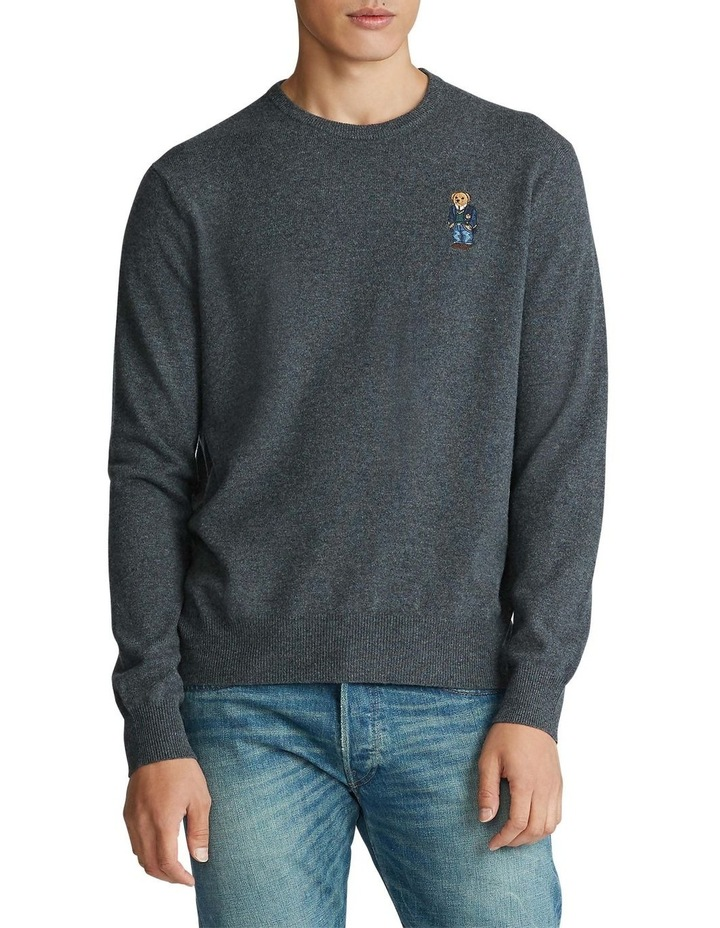 Polo Bear Merino Wool Sweater image 1