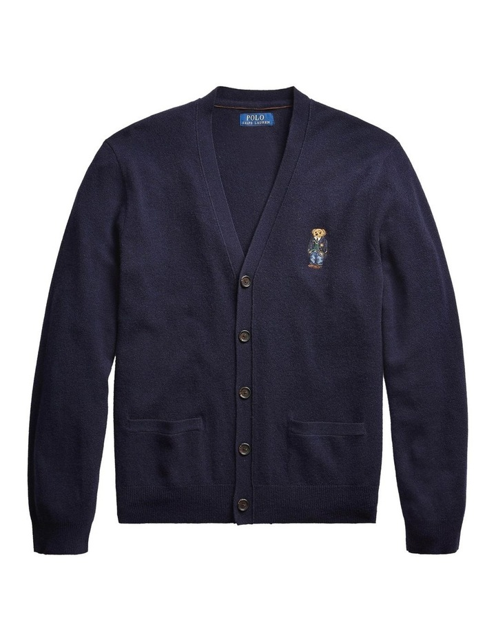 Polo Bear Merino Wool Cardigan image 4