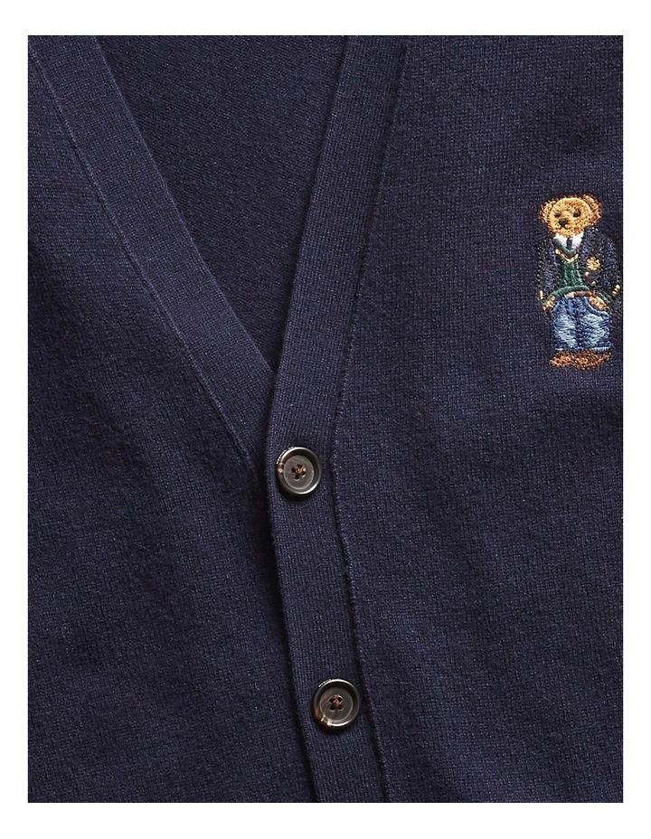 Polo Bear Merino Wool Cardigan image 5