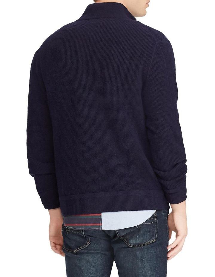Merino Wool Full-Zip Sweater image 2