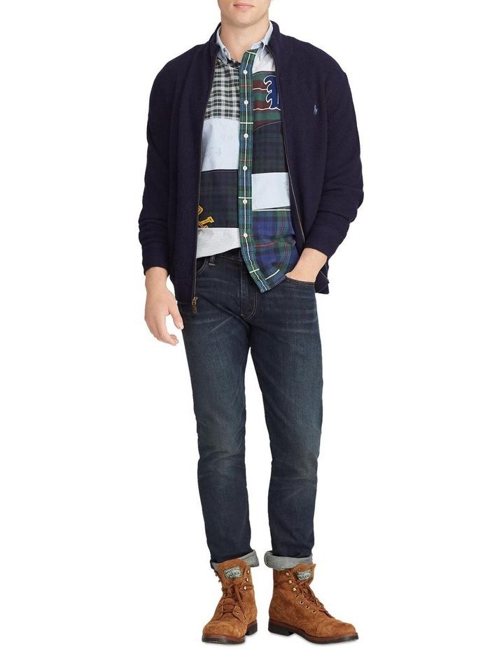 Merino Wool Full-Zip Sweater image 3
