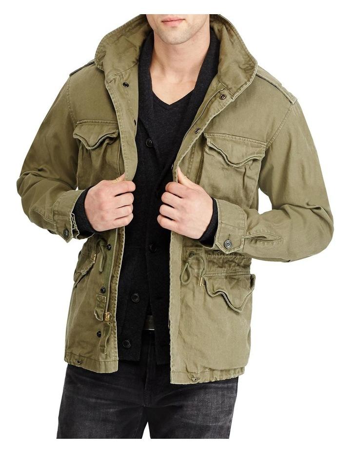Herringbone Twill Field Jacket image 1