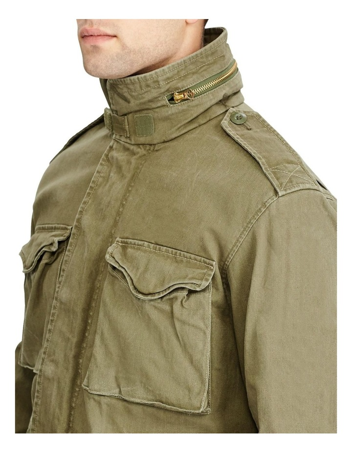 Herringbone Twill Field Jacket image 2