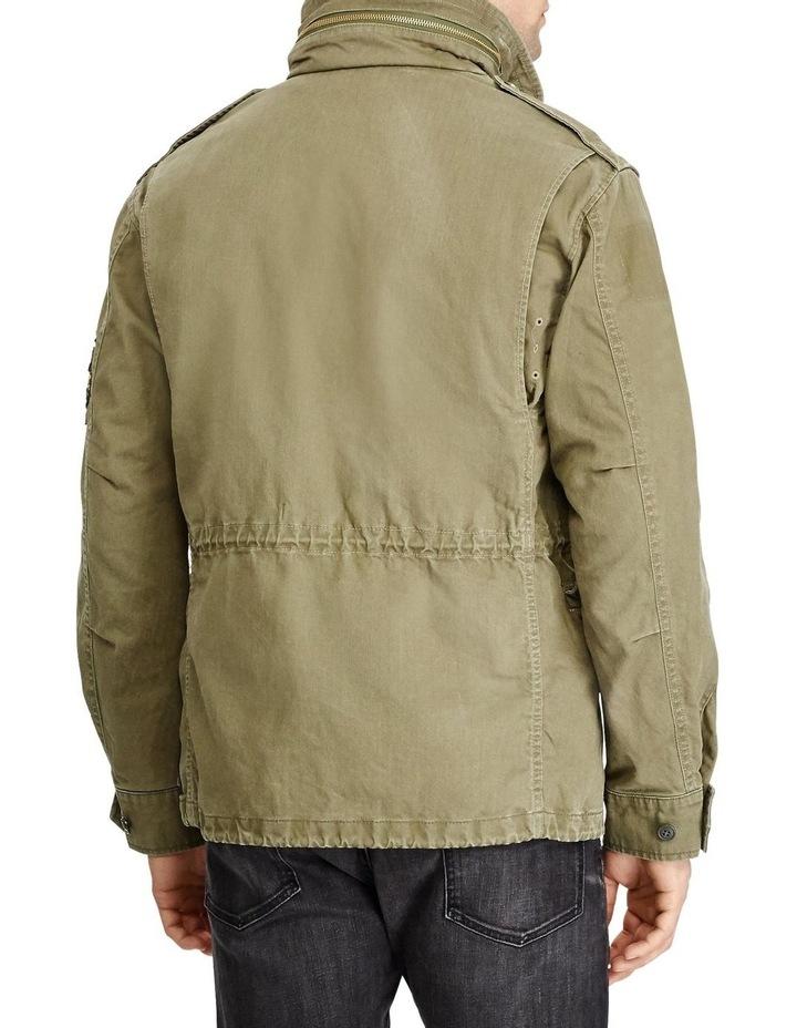 Herringbone Twill Field Jacket image 3