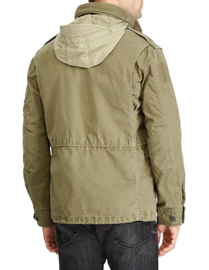 Herringbone Twill Field Jacket image 4
