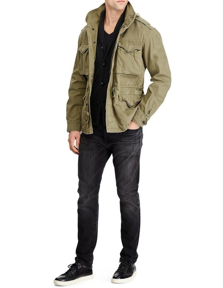 Herringbone Twill Field Jacket image 5