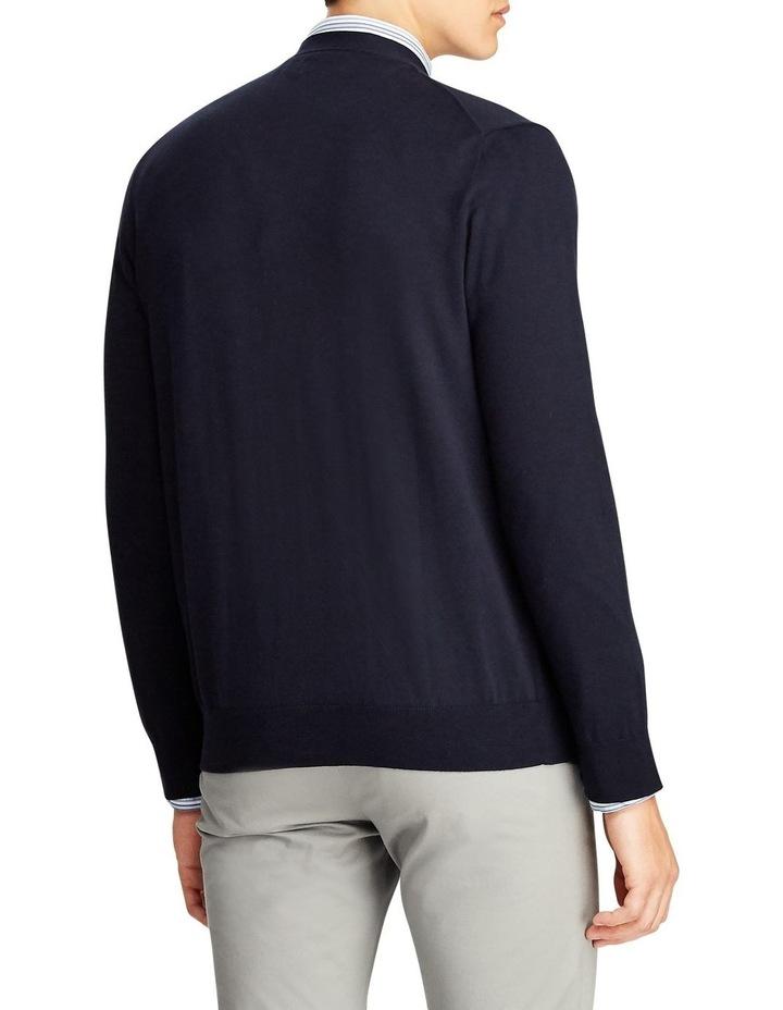 Cotton V-Neck Cardigan image 2