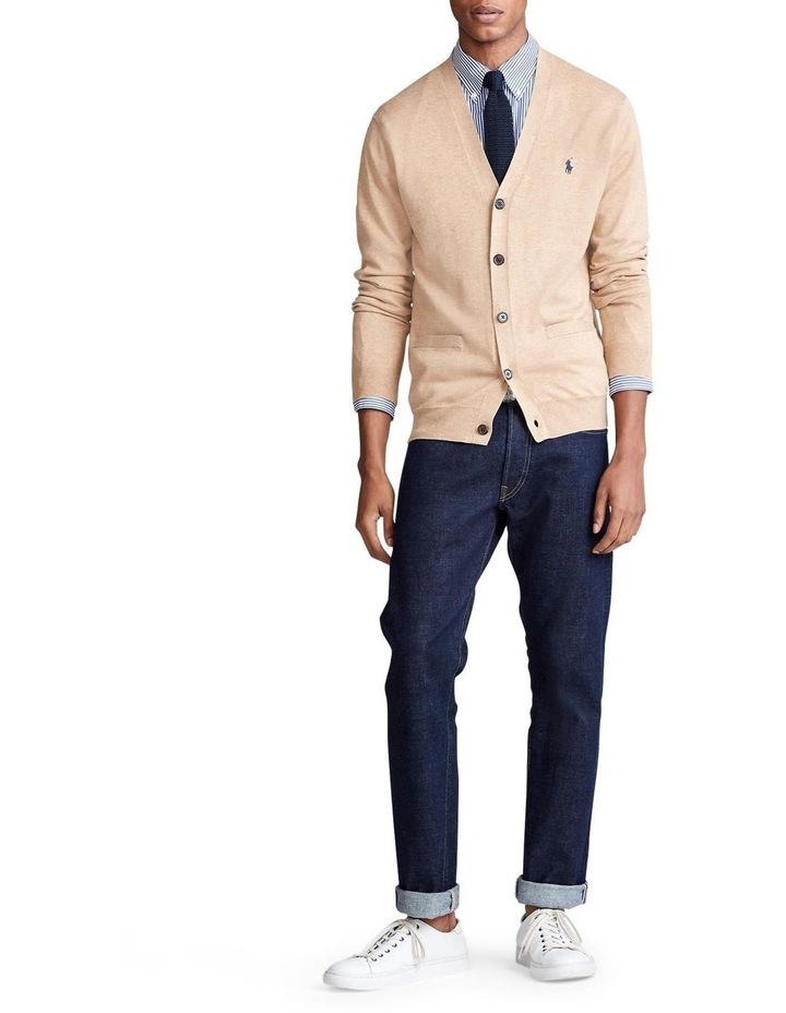 Cotton V-Neck Cardigan image 3