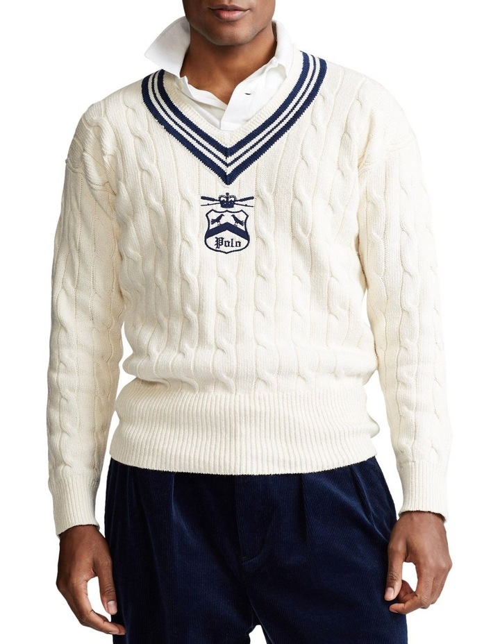 Embroidered Cricket Sweater image 1