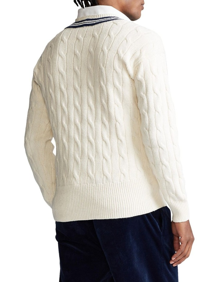Embroidered Cricket Sweater image 2