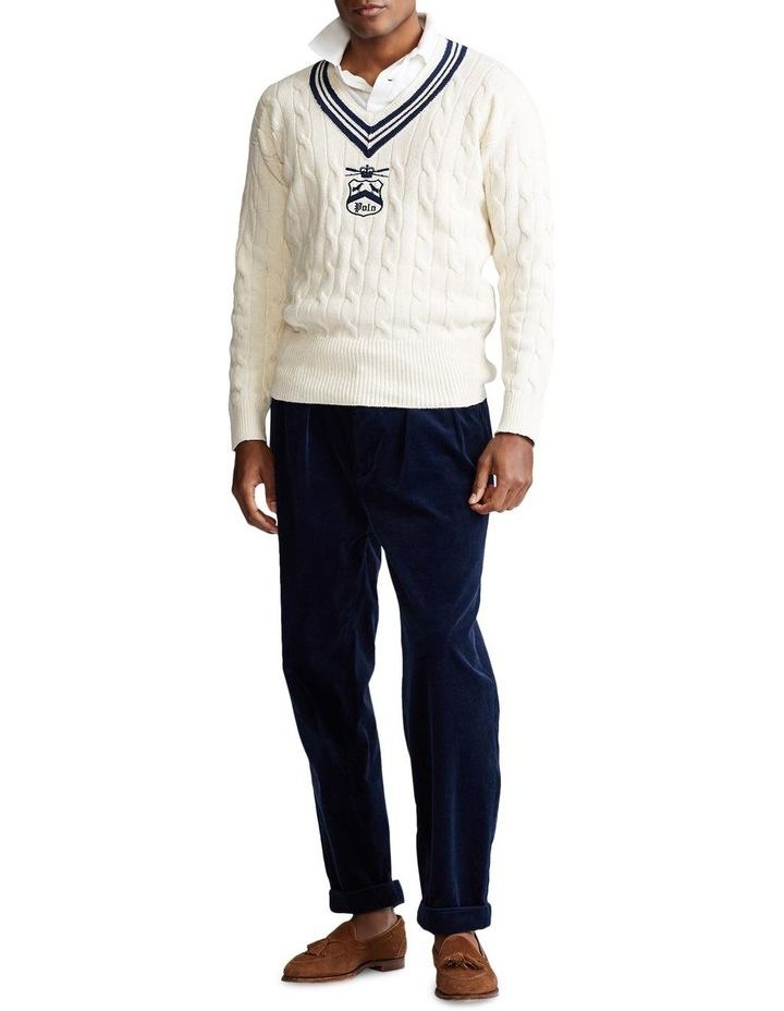 Embroidered Cricket Sweater image 3