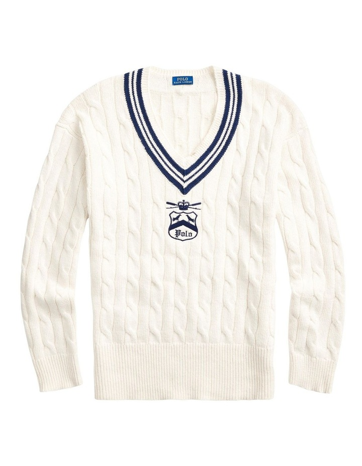 Embroidered Cricket Sweater image 4