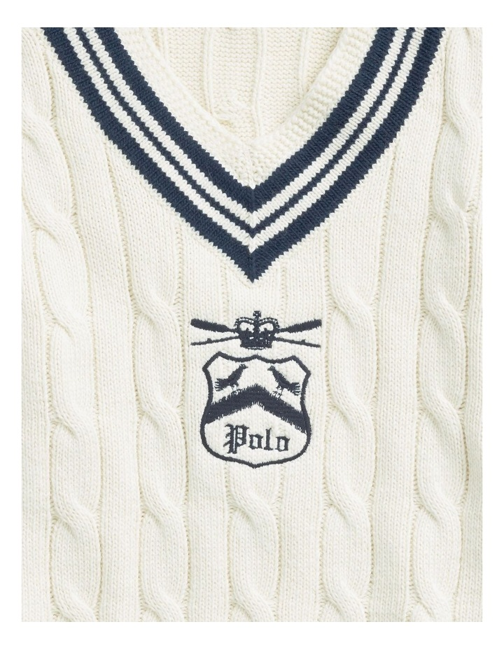 Embroidered Cricket Sweater image 5