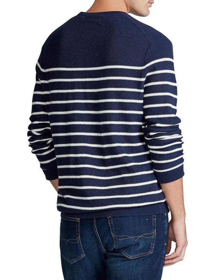 Striped Cotton Sweater image 2