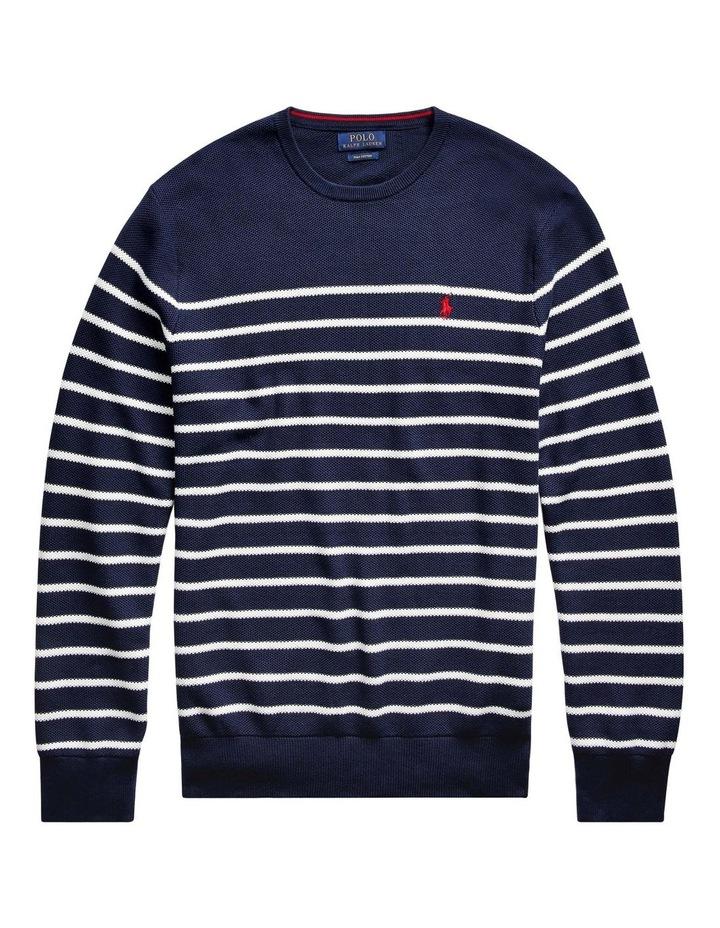 Striped Cotton Sweater image 4