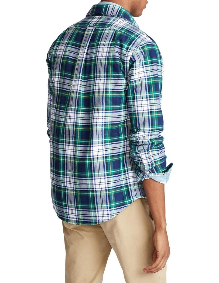 Plaid Oxford Shirt Jacket image 2