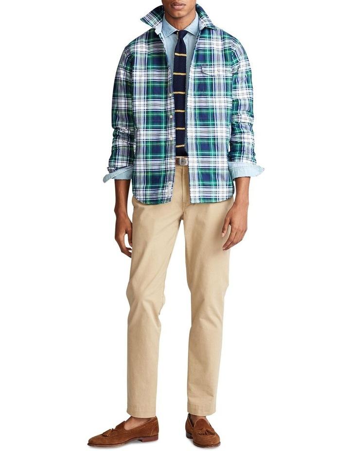 Plaid Oxford Shirt Jacket image 3