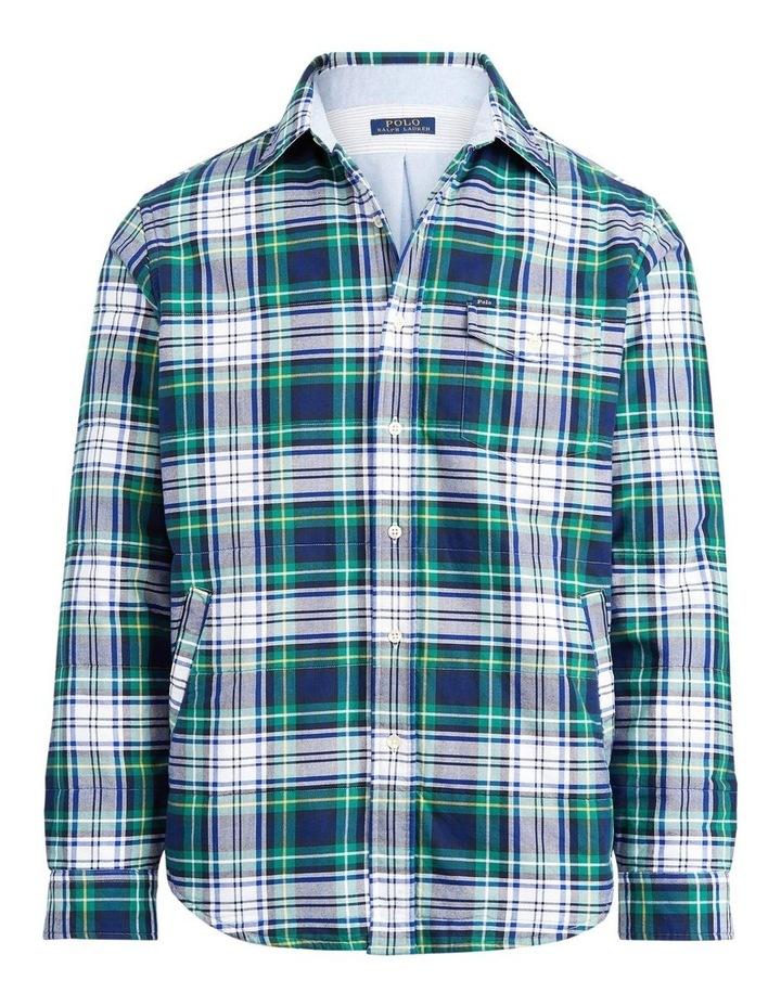 Plaid Oxford Shirt Jacket image 4