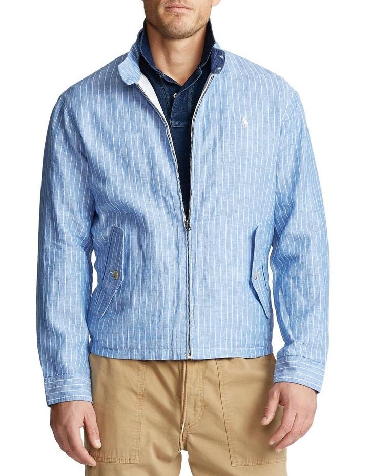 Striped Linen Jacket image 1