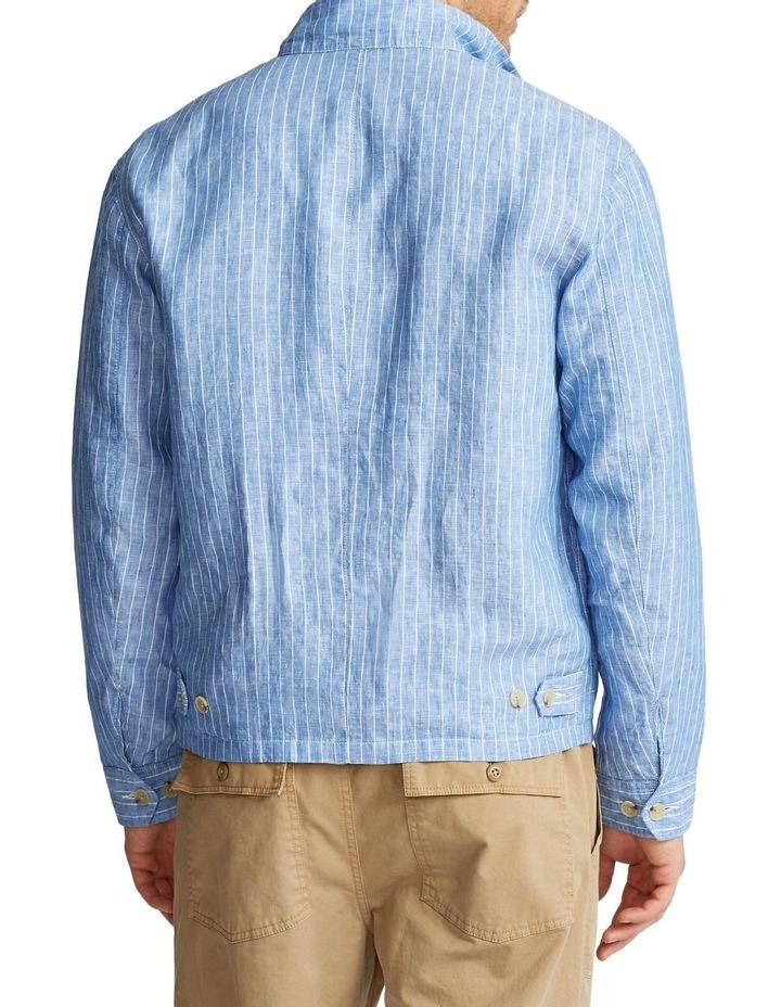 Striped Linen Jacket image 2