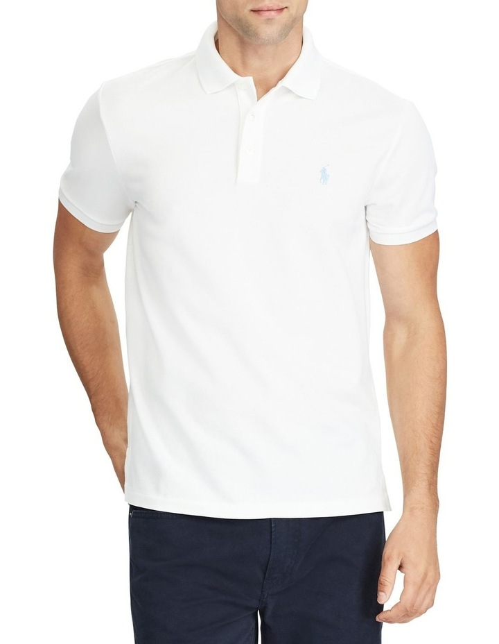 Custom Slim Fit Stretch Polo image 1