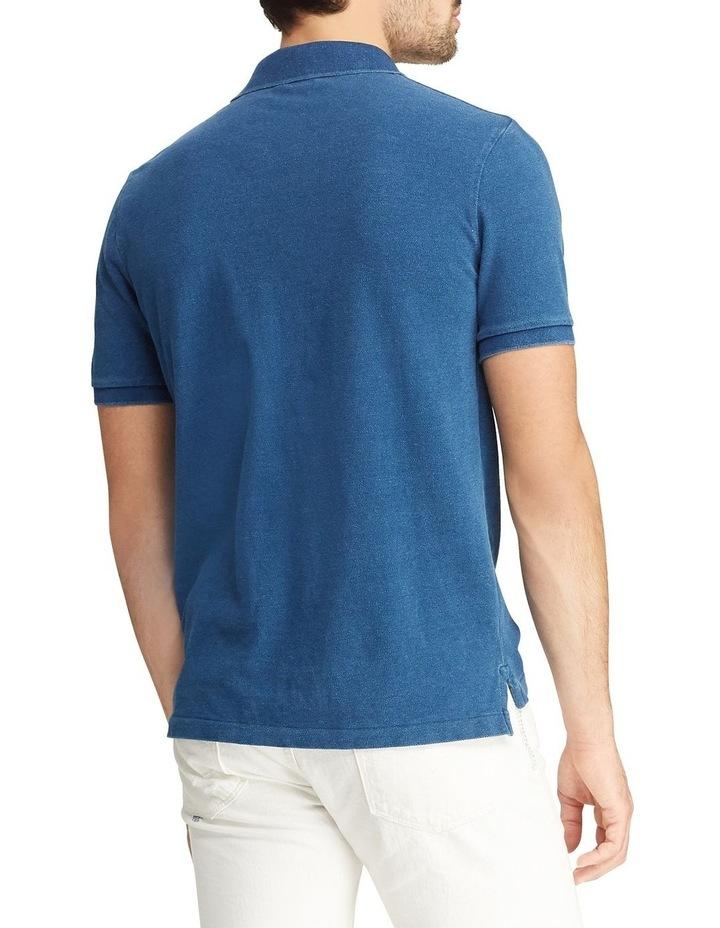 Custom Slim Fit Mesh Polo image 2