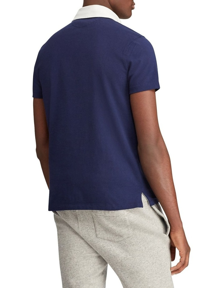 Custom Slim Fit Cotton Rugby Polo image 2