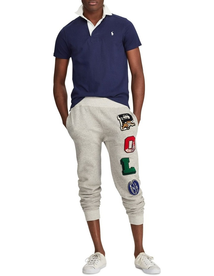Custom Slim Fit Cotton Rugby Polo image 3