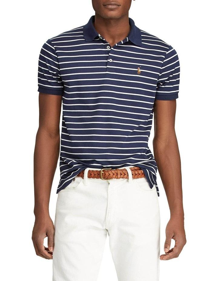 Custom Slim Fit Interlock Polo image 1