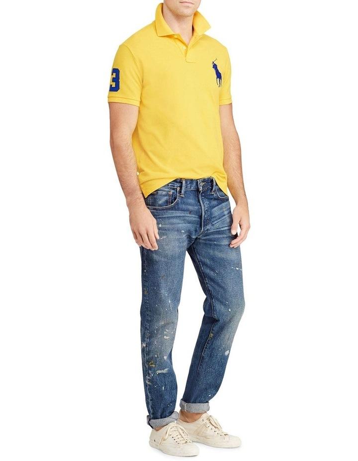 Custom Slim Fit Mesh Polo image 3