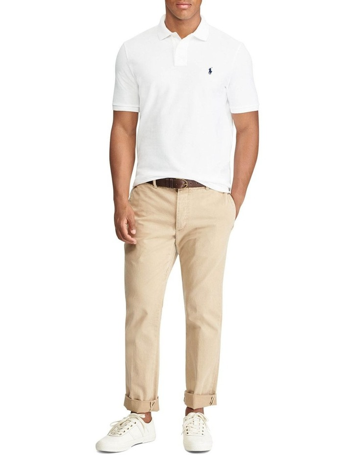 Classic Fit Mesh Polo image 3
