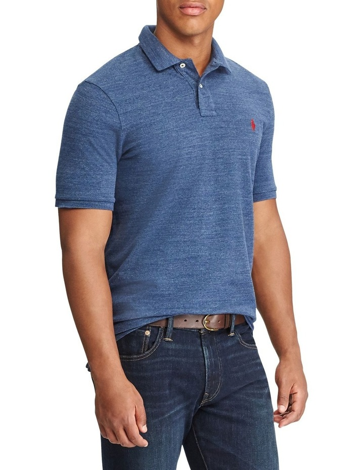 Classic Fit Mesh Polo image 1