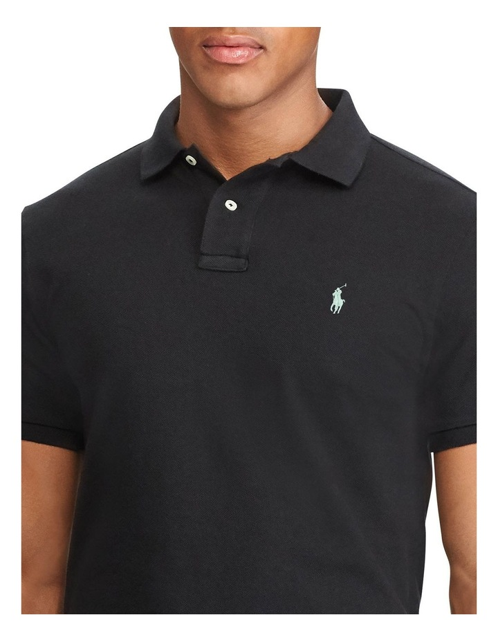 Custom Slim Fit Mesh Polo image 5