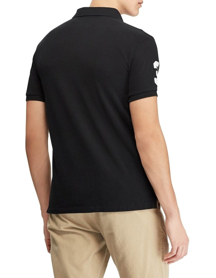 Custom Slim Fit Mesh Polo image 2