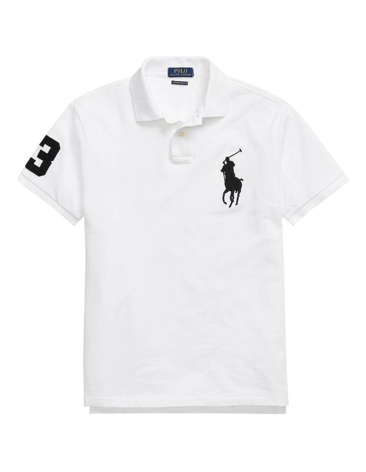 Custom Slim Fit Mesh Polo image 4