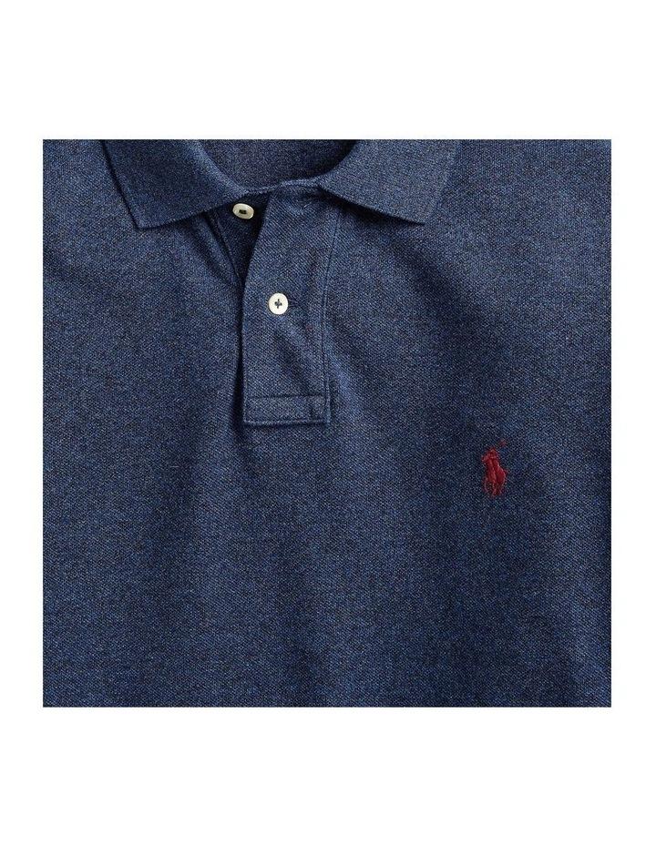 Custom Slim Fit Mesh Polo image 5