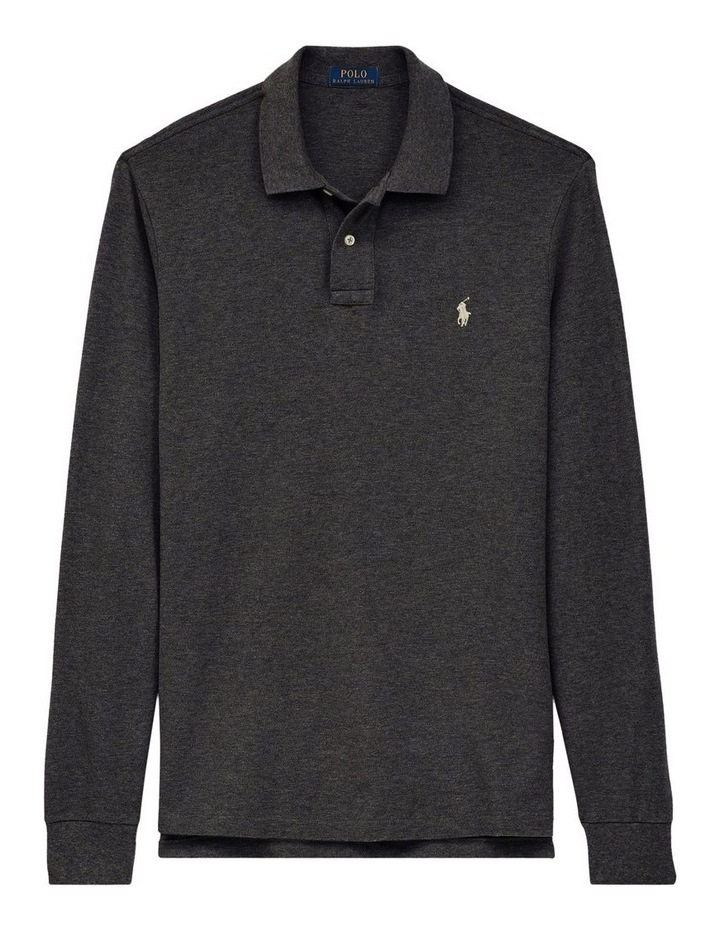 Custom Slim Fit Mesh Polo image 4