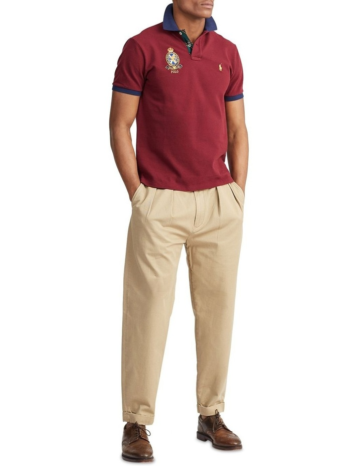 Custom Slim Fit Mesh Polo image 3