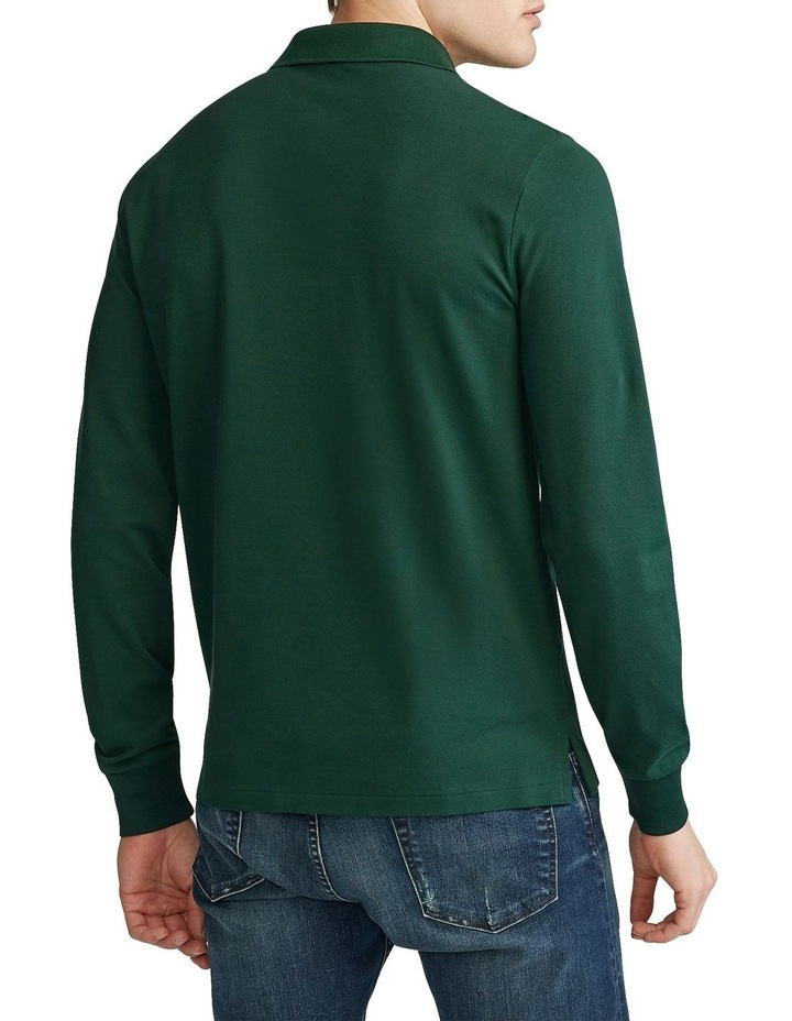 Custom Slim Long-Sleeve Polo image 2