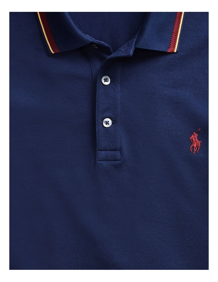 Custom Slim Long-Sleeve Polo image 5
