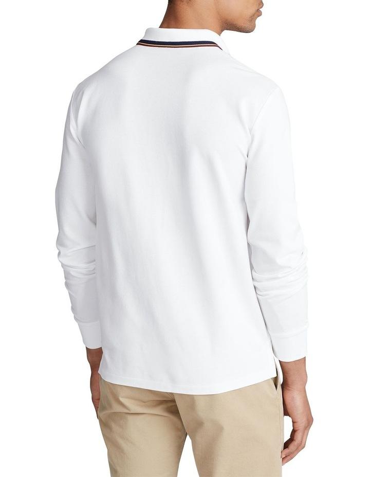 Custom Slim Long-Sleeve Polo image 2