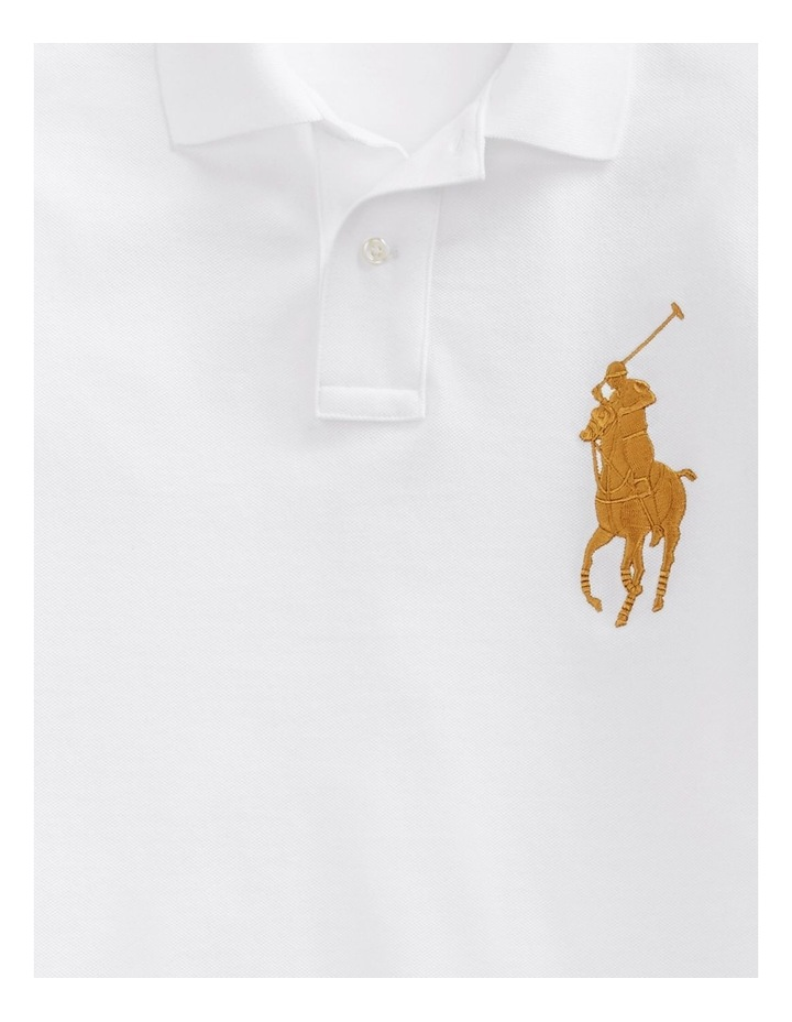 Custom Slim Long-Sleeve Polo image 5