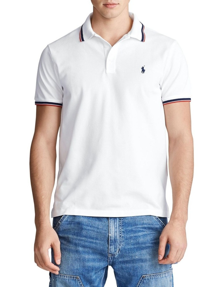 Custom Slim Stretch Mesh Polo image 1